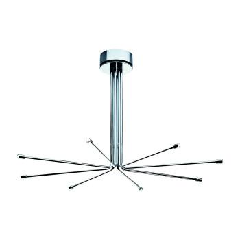 Cini & Nils Cini Light System Composizione, ⌀ 110 cm, mit 8 langen Armen (8L), ohne Glaszylinder