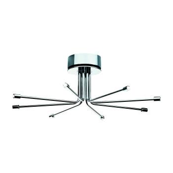 Cini & Nils Cini Light System Composizione, ⌀ 80 cm, mit 8 kurzen Armen (8C), ohne Glaszylinder