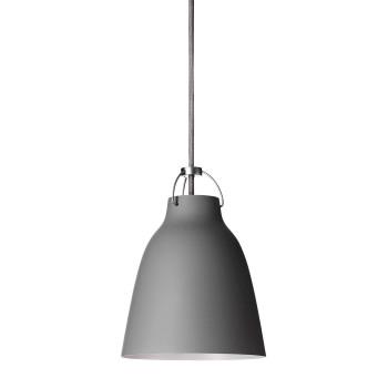 Fritz Hansen Caravaggio Matt P1, Grey45 (mittelgrau), mit grauem Kabel