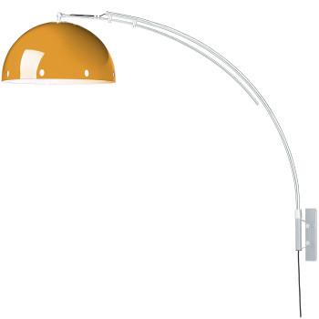 Pujol Retro A-105, Gestell silber, Schirm orange