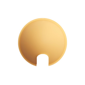 Luceplan Berenice Reflektor, gelb (Glas)