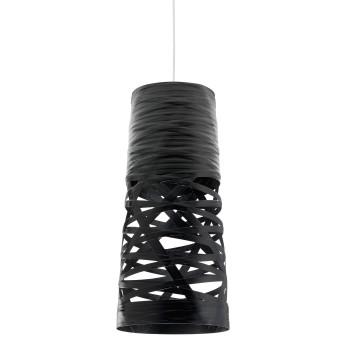 Foscarini Tress Mini Sospensione, schwarz, Kabelsonderlänge 10 m