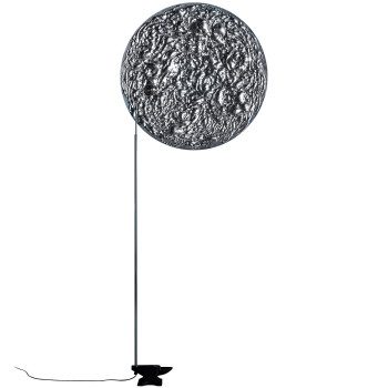 Catellani & Smith Stchu-Moon 08, mit Scheibe, ⌀ 80 cm, silber