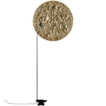 Catellani & Smith Stchu-Moon 08, mit Scheibe, ⌀ 80 cm, gold