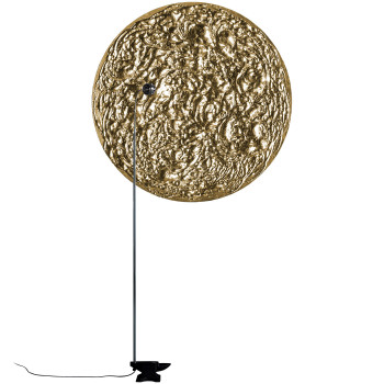 Catellani & Smith Stchu-Moon 08, mit Scheibe, ⌀ 120 cm, gold