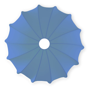 Axo Light Muse PL40, blau