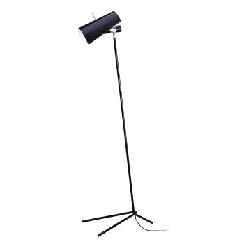 Nemo Claritas, black, with black lampshade