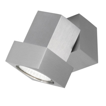 DLS Lighting Style Q Strahler, aluminium
