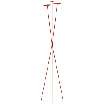 Vibia Skan 0260 Stehleuchte, Terra Red (rot)