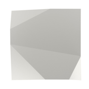 Vibia Origami 4500 Wandleuchte, weiß