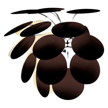 Marset Discocó A, außen schwarz / innen goldfarben