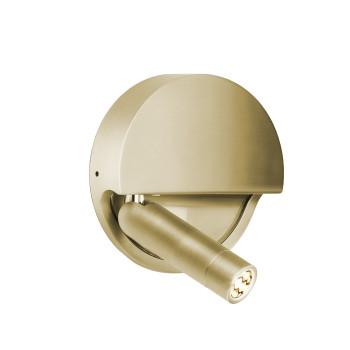 Marset Ledtube R, Reflektor links / bronze