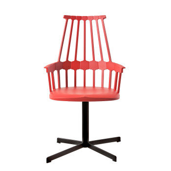 Kartell Comback 5952, orange seat/ black structure