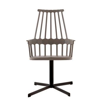 Kartell Comback 5952, hazel seat/ black structure