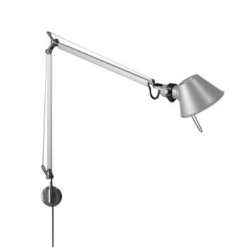 Artemide Tolomeo Midi Parete LED, Aluminium