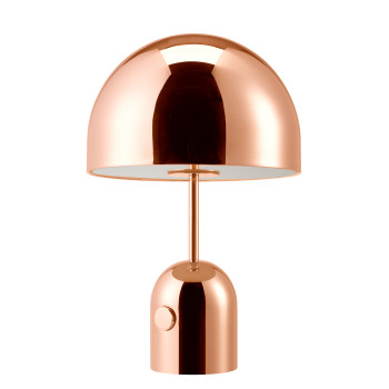 Tom Dixon Bell Table, Small, Kupfer