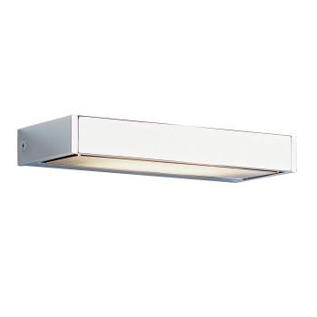 Serien Lighting SML Wall L, glanzverchromt, Abdeckungen satiniert/gerastert