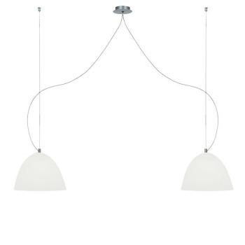 Casablanca Bell Suspension, ⌀ 30 cm, blanc