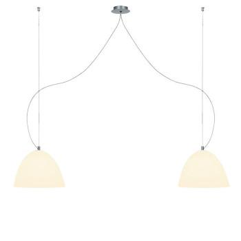 Casablanca Bell Suspension, ⌀ 30 cm, blanc-sable-blanc