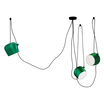 Flos Aim 3 Sospensione LED, anodised ivy