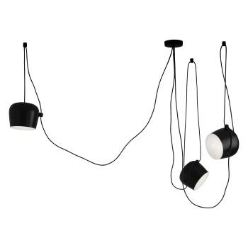 Flos Aim 3 Sospensione LED, black (dimmable)