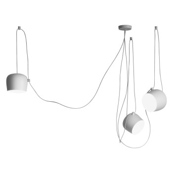 Flos Aim 3 Sospensione LED, white (dimmable)