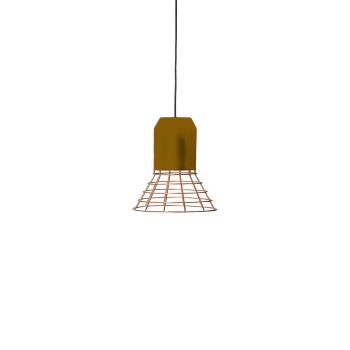 ClassiCon Bell Light Copper Pendelleuchte, Lampenfassung Messing