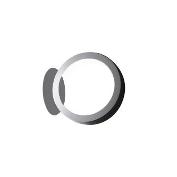Cini & Nils Assolo Parete/Soffitto LED, weiß mit runder Platte
