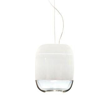 Prandina Gong S3, glänzend weiß - glänzend weiß