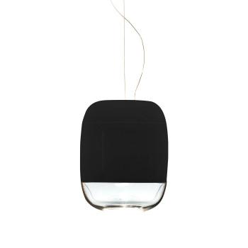 Prandina Gong S3, glänzend schwarz - glänzend schwarz