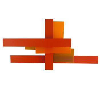 Foscarini Fields Parete, orange
