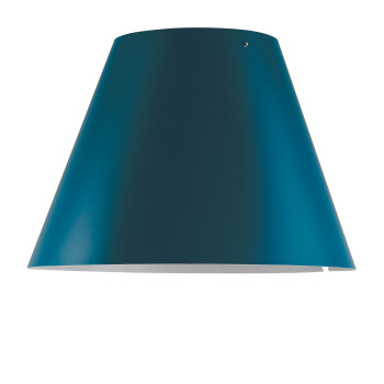 Luceplan Costanza Radieuse Schirm, petrolblau