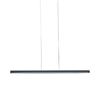 Artemide Talo Sospensione 120 LED, schwarz matt