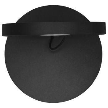 Artemide Demetra Faretto LED, schwarz matt, 3000K, mit Tastdimmer