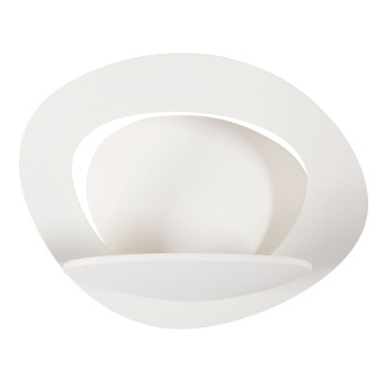 Artemide Pirce Micro Parete LED, Struktur weiß matt, Lichtfarbe 2.700 Kelvin