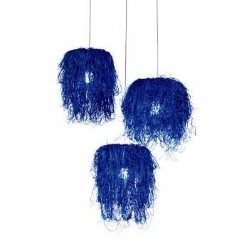 Arturo Alvarez Caos CA04A-3 Pendelleuchte, blau