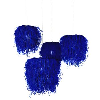 Arturo Alvarez Caos CA04A-4 Pendelleuchte, blau