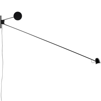Luceplan Counterbalance Wall, black