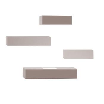 Vibia Set 7762 Wandleuchte, Nerzfarben matt (beige/grau)
