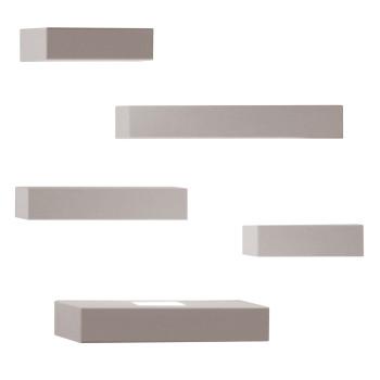 Vibia Set 7763 Wandleuchte, Nerzfarben matt (beige/grau)