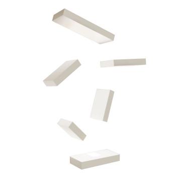 Vibia Set 7764 Wandleuchte, Nerzfarben matt (beige/grau)