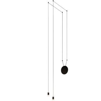 Vibia Wireflow Free-Form mit Glasdiffusor, 2 LEDs (0349)