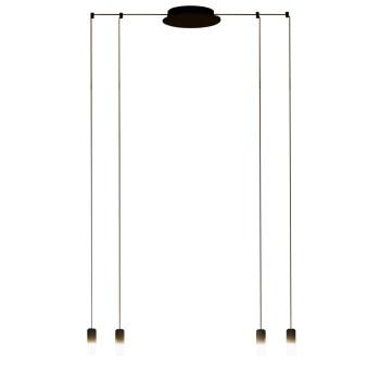 Vibia Wireflow Free-Form mit Glasdiffusor, 4 LEDs (0351)