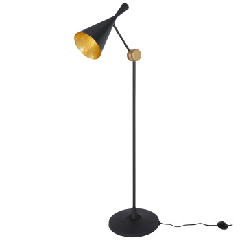 Tom Dixon Beat Floor, Black - schwarz