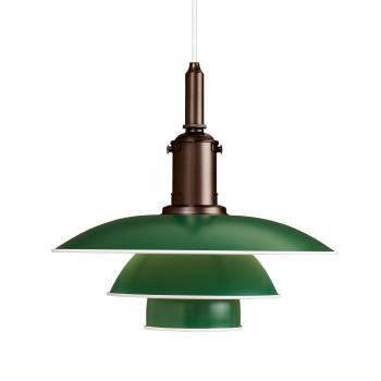 Louis Poulsen PH 3½-3, grün