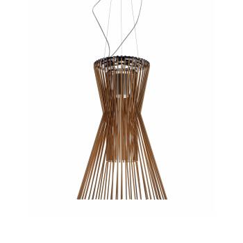 Foscarini Allegro Vivace Sospensione LED, kupferfarben