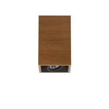 Flos Compass Box Small 1L LED, Teak / medium 26°