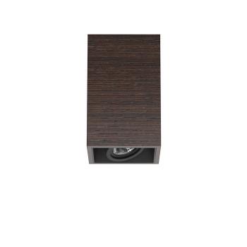 Flos Compass Box Small 1L LED, wenge  / flood 59°