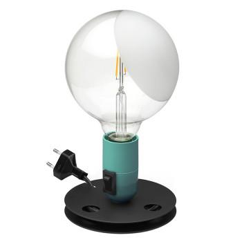 Flos Lampadina LED, türkis