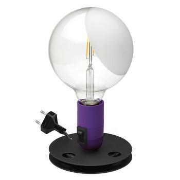 Flos Lampadina LED, violett